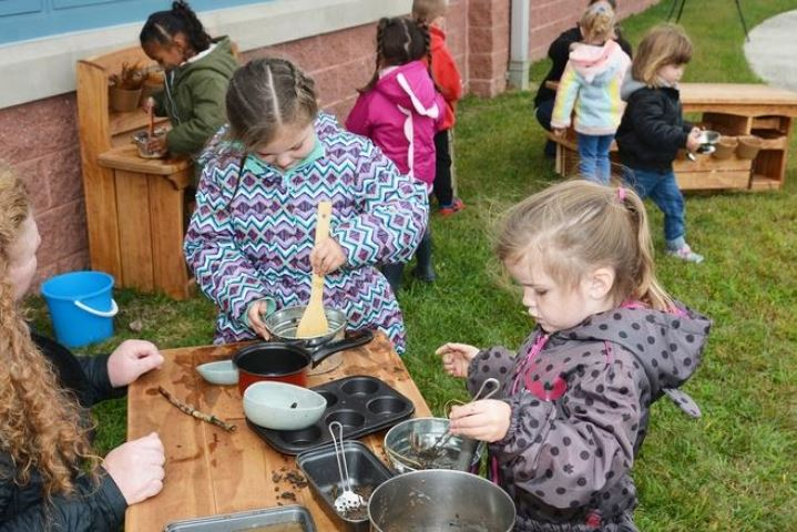 PECEC opens outdoor learning lab