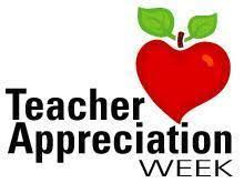 "Teacher Appreciation Week ""Classroom heroes supporting their students every day."""