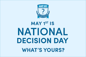May 1 National commitment day!