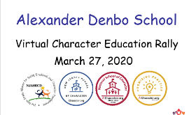 Denbo School Virtual Character Education Rally