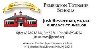 Josh Besserman Business Card