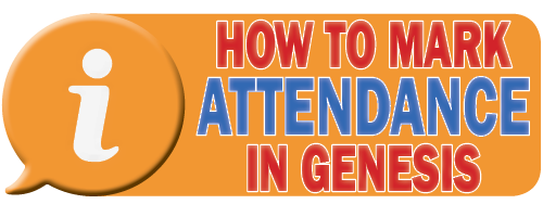 How To Mark Attendance in Genesis