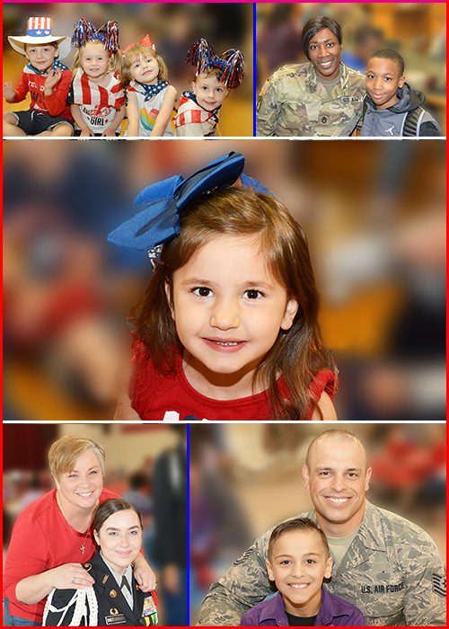 Photos of Military Kids