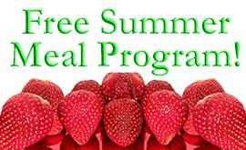 Free Breakfast & Lunch This Summer!