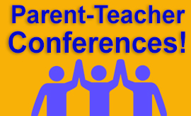 Parent Conferences November 19, 23, 24